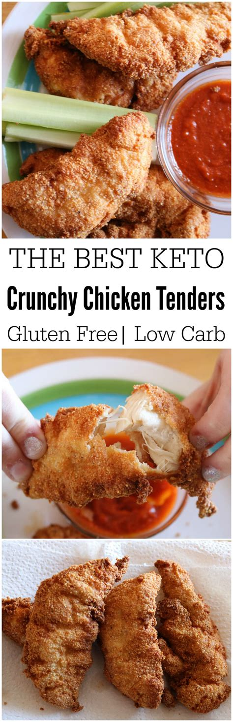 keto chicken tenders recipe carb strips fryer air recipes fried friendly easy low gluten thighs wings healthy foods kid