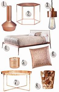 Rose Gold Furniture - Stools & Chairs