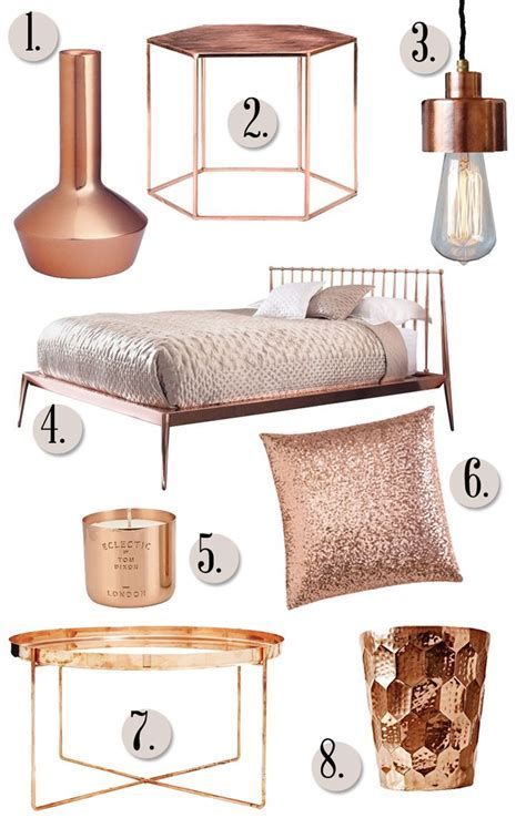 Rose Gold Furniture   Stools & Chairs