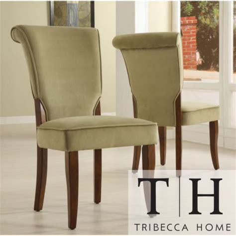 overstockcom upholstered dining chairs the velvet andorra upholstered dining chairs set of 2 will