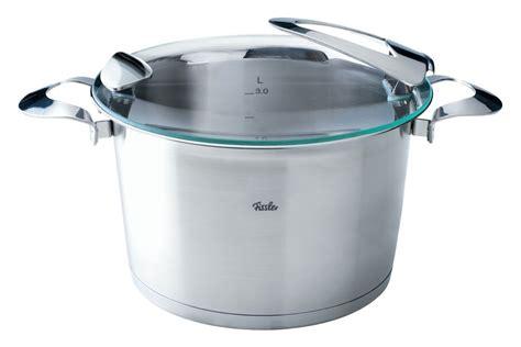 fissler solea stainless steel stew pot  quart cutlery