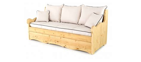 canap convertible style montagne canape bois massif style montagne gigogne everest dh cpgig