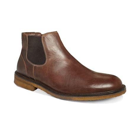johnston murphy copeland gore boots  tan brown  men lyst