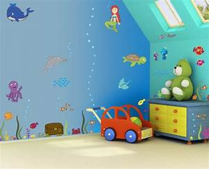 wall art decor ideas for kids room my decorative With childrens bedroom wall painting ideas