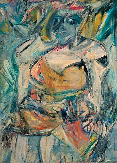Kooning Willem Woman Abstract Expressionism Ii Oil
