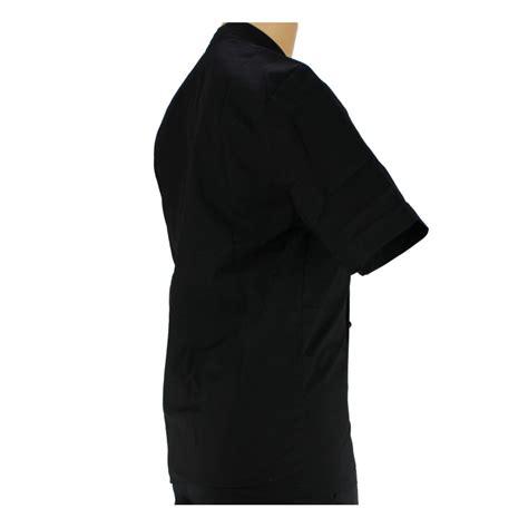 veste de cuisine homme noir veste de cuisine noir manche courte et légère pour homme