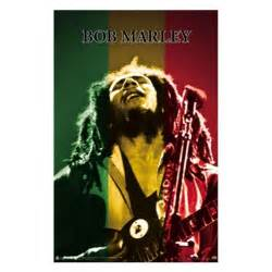 bob marley rasta stage wall poster