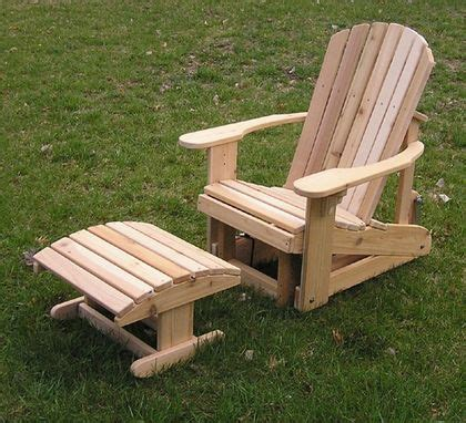 custom adirondack chair  woodwork  stan custommadecom