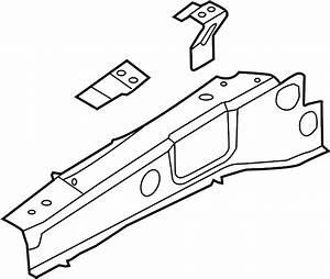 Ford Explorer Fender Rail  Upper   Inner  Assembly
