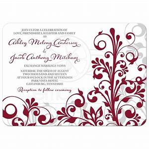 burgundy gray abstract floral wedding invitation With kitchen colors with white cabinets with wedding envelope stickers