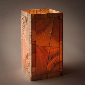 Sichtzäune Aus Holz : kiefer 7x14cm holz windlicht mit glas ~ Watch28wear.com Haus und Dekorationen