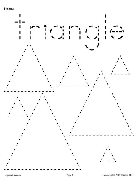 12 shapes tracing worksheets circles squares triangles 402 | Various 20Shapes 20Tracing 20pages triangle 57ccdd1d cda4 4e4d b8cd 6b00fb589492 1024x1024
