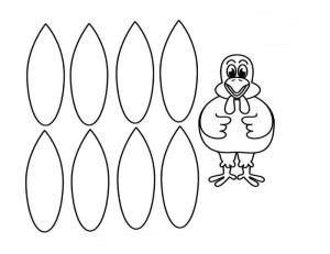 Turkey Math Template by Thankful Turkey Craft Template Math Pattern Unit