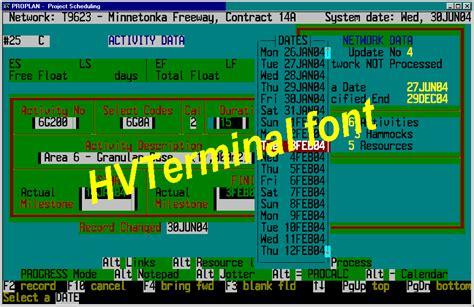 hvterminal truetype terminal font hi visibility truetype monospaced oem terminal fonts
