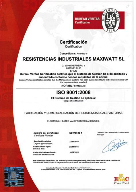 bureau veritas italy guarantee quality