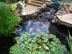 Raised Formal Backyard Koi Pond