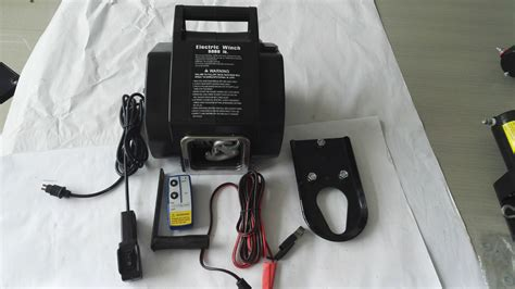 Electric Boat Winch Wireless Remote by Wireless Remote 5000lbs Boat Electric Winch