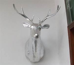 China deer head for wall decoration
