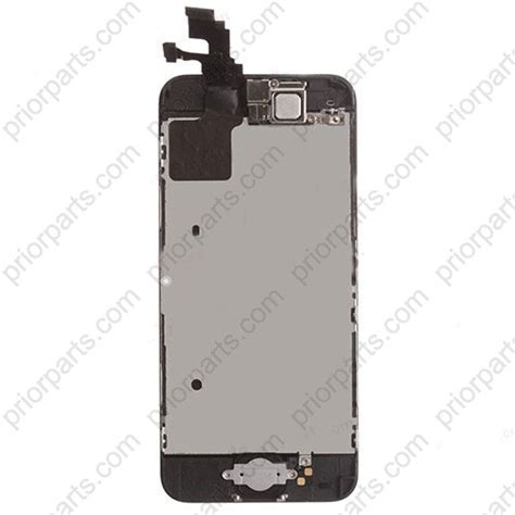 iphone 5c parts for iphone 5c lcd display assembly with small parts black