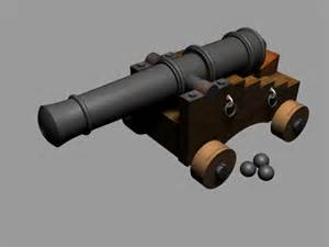 Free 3D Model Cannon