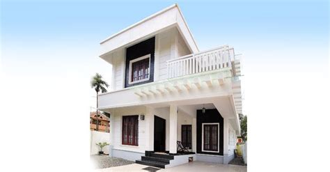 5 Cent Home Designs : 3.5 Cents 3 Bhk Double Floor Home Design At 1392 Sq Ft