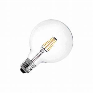 Filament Led Dimmbar : led lampe e27 g125 6w supreme filament dimmbar ledkia deutschland ~ Markanthonyermac.com Haus und Dekorationen