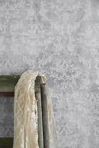 Vintage Tapete Grau : vintage tapete grau gemustert die feenscheune home pinterest tapete grau vintage tapete ~ Sanjose-hotels-ca.com Haus und Dekorationen