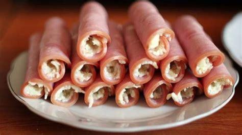 recette de cuisine simple et rapide un apéritif gourmand avec mes roulés de jambon au