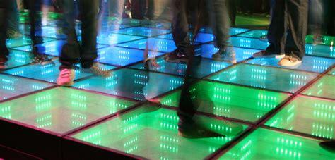 sustainable energy floor curve floor that lights up when danced on