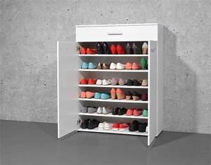 Schuhschrank Für 100 Paar Schuhe : schuhschrank wei f r bis zu 30 paar schuhe garderoben und flurm bel schuhschr nke ~ Frokenaadalensverden.com Haus und Dekorationen