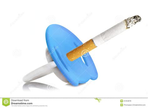 Smoke In Pregnancy Stock Photo Image Of Children Danger