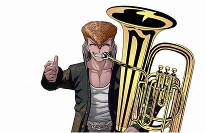 Danganronpa Characters Instruments Mondo Musical Random Tuba