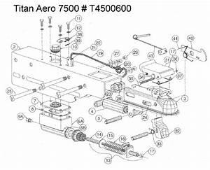 Titan Aero 7500 Brake Actuator Diagram