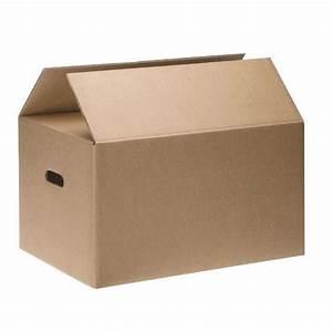 Carton Demenagement Ikea : caisse de d m nagement double cannelure poign e ~ Melissatoandfro.com Idées de Décoration