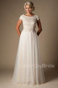 17 best images about modest wedding dresses on pinterest With wedding dresses salt lake city