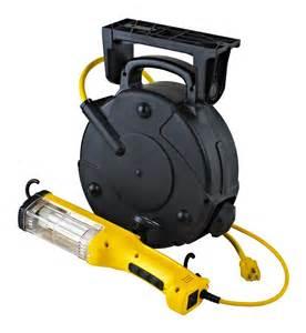 Retractable Cord Reel Work Light