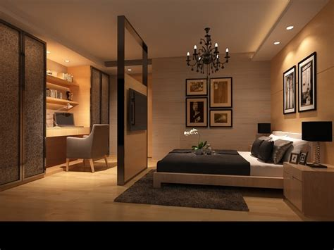 D Model Bedroom Or Hotel Room Photoreal