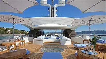 Yacht Luxury Yachts Interior Nice Super Lifestyle