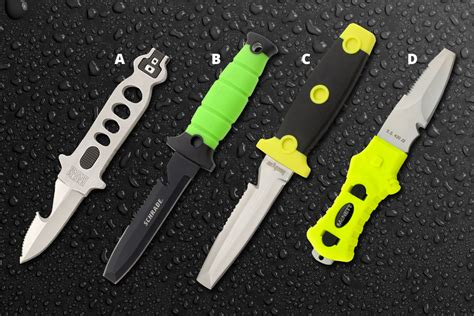 Dive Knives - the water s warming up here are 4 dive knives you should