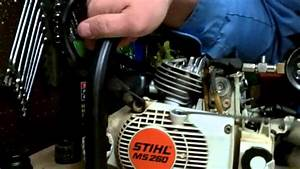 Stihl Chainsaw Compression Readings On A New Or Rebuilt