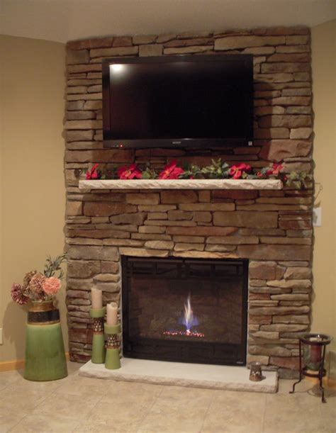 rock fireplace wall fireplace rock stone fireplace with mounted tv ideas for new house pinterest stone