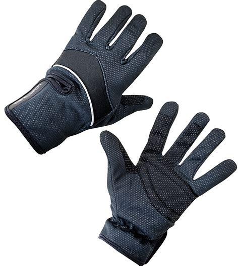Aero Tech Windproof Thermal Reflective Gloves Black
