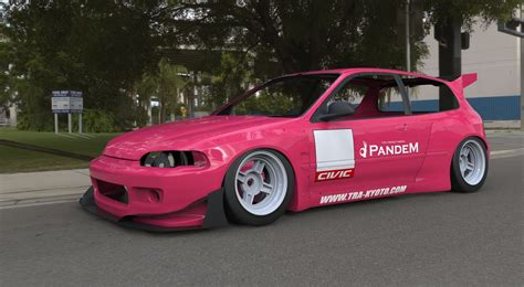 rocket bunny rocket bunny aero package introduced for eg civic