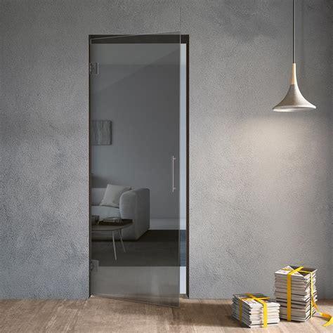 Porta Battente Vetro by Porta In Vetro A Battente Va Vieni