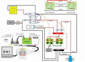 Wiring Diagrams Electrical Installation For Motorhome