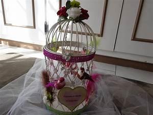 Urne Mariage Cage à oiseaux 8 Déco