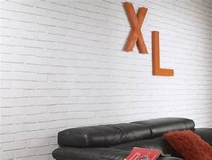 Leroy Merlin Papier Peint Brique : papier peint imitation briques blanches photo 12 15 un ~ Dailycaller-alerts.com Idées de Décoration