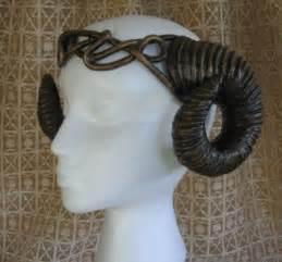 Rams Horn Headdress Costume