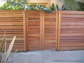 Menards Sliding Patio Doors by Modern Horizontal Wood Fence Amp Gate Studio City Hancock