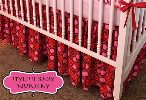 crib skirt pattern diy or buy how to make a crib dust ruffle or where to